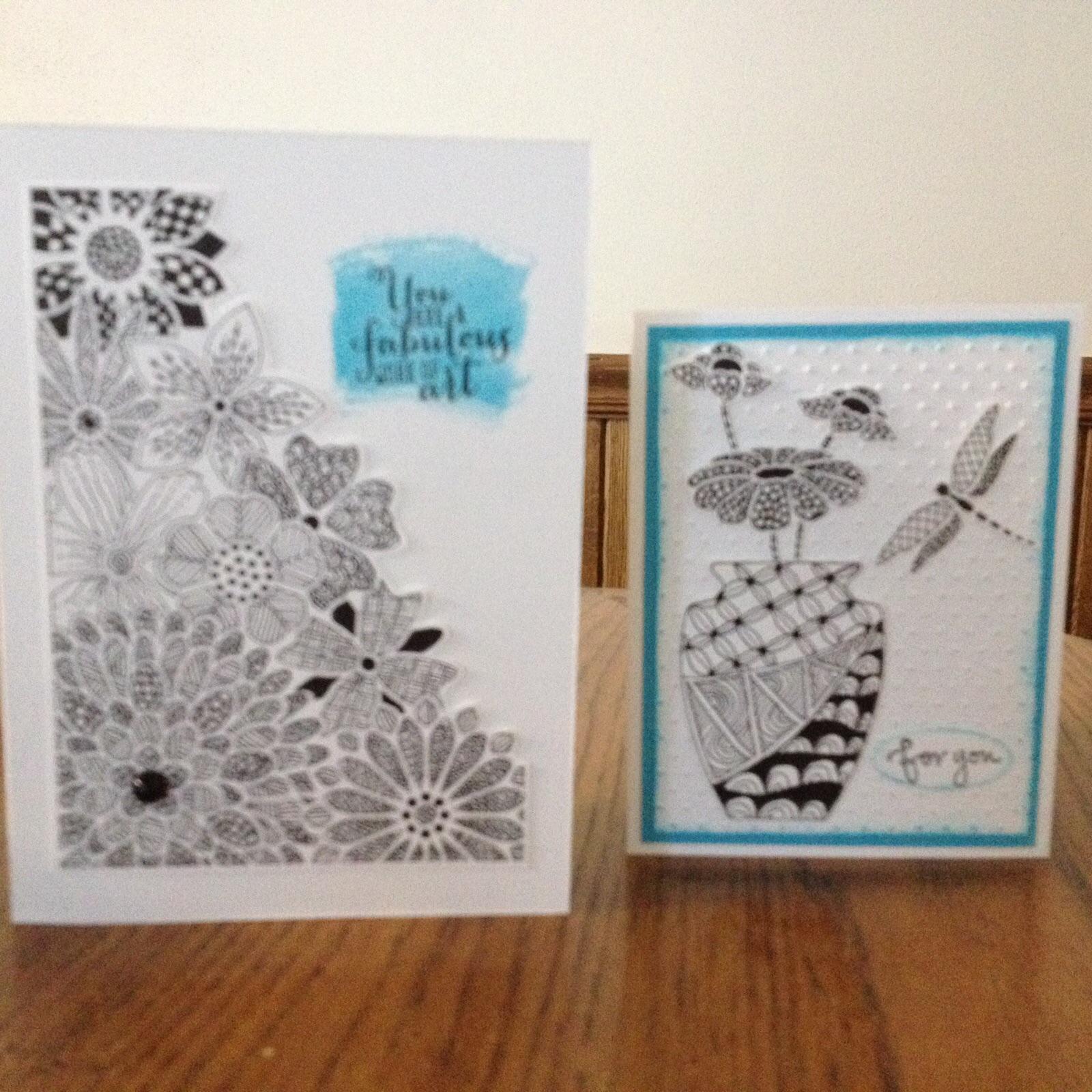 Doodle Card -Craft-