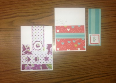 cards and bookmark