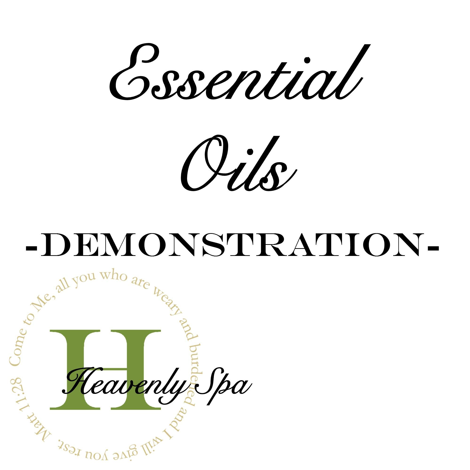 Essential Oils -Demo-