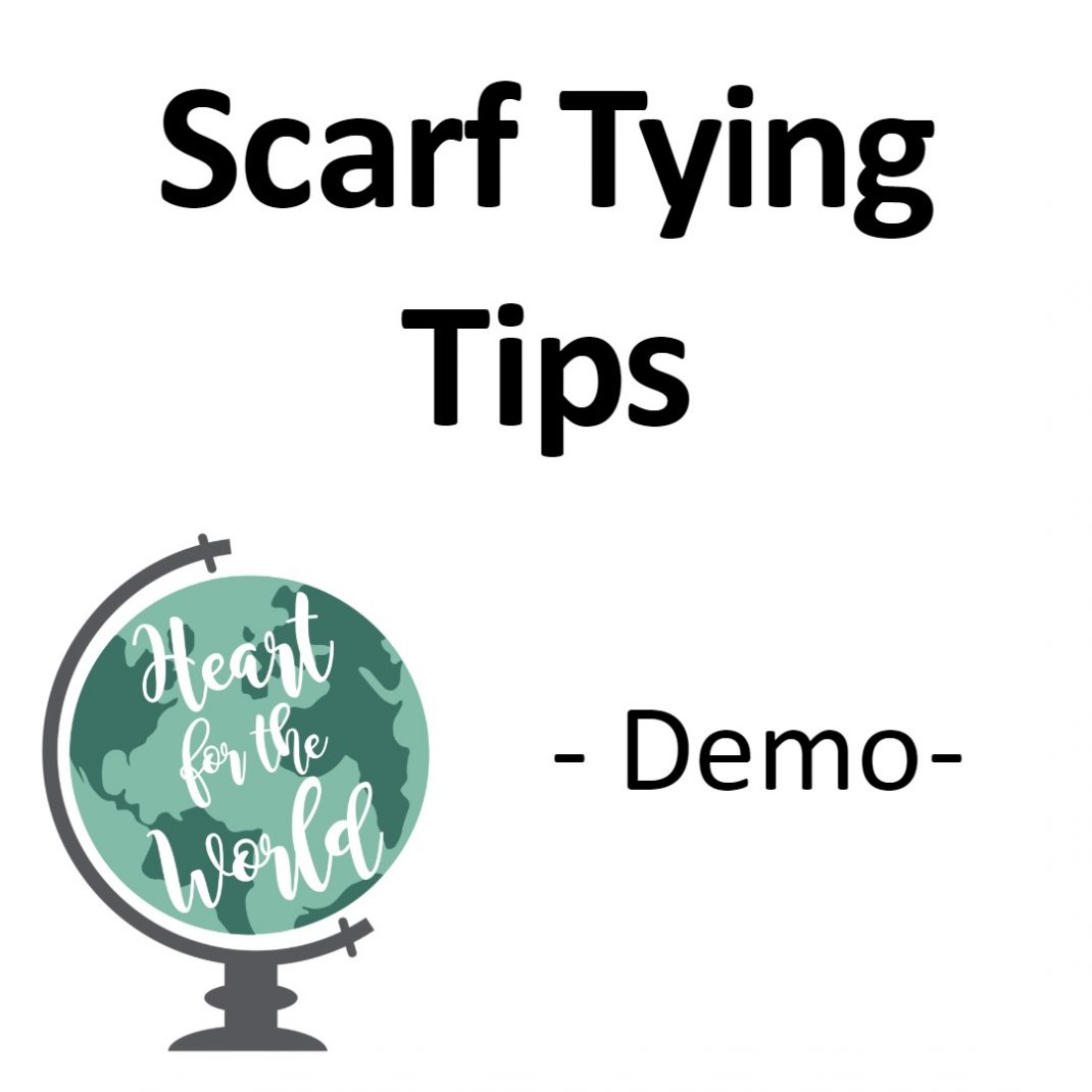 Scarf Tying Tips/Demo
