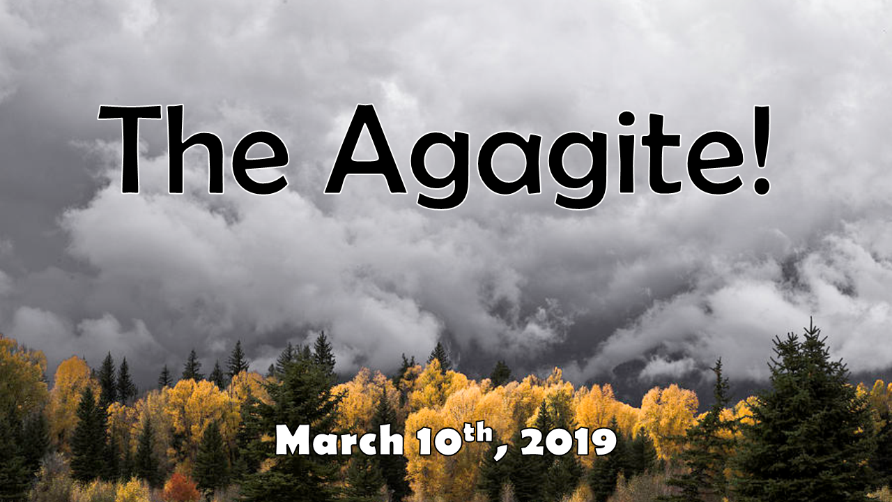 The Agagite! | March 10, 2019