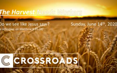 Do we see like Jesus saw? Matthew 9:35-38 | June 14, 2020